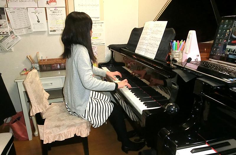 ピアノ教室に通う生徒さんの声